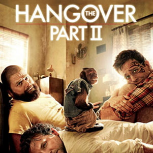 The Hangover Original and Part 2 Character Posters