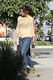Katie Holmes Fits a Marc Jacobs Stop Into Her Busy Afternoon
