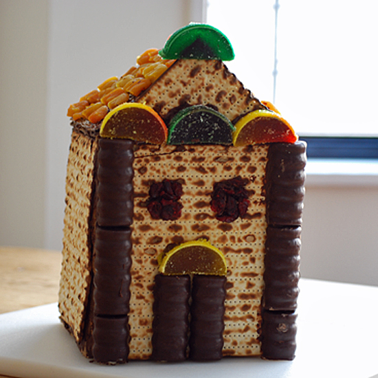A Matzo House Adds a Fun and Tasty Treat to a Kids' Seder