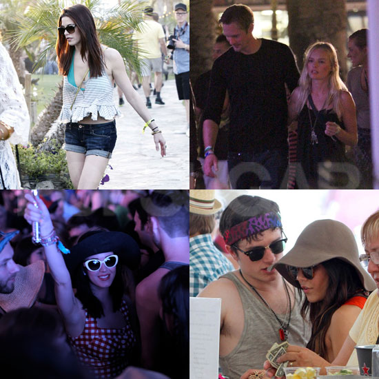 Ashley Greene, Kate Bosworth, Katy Perry, and More Stars Kick Off Coachella!