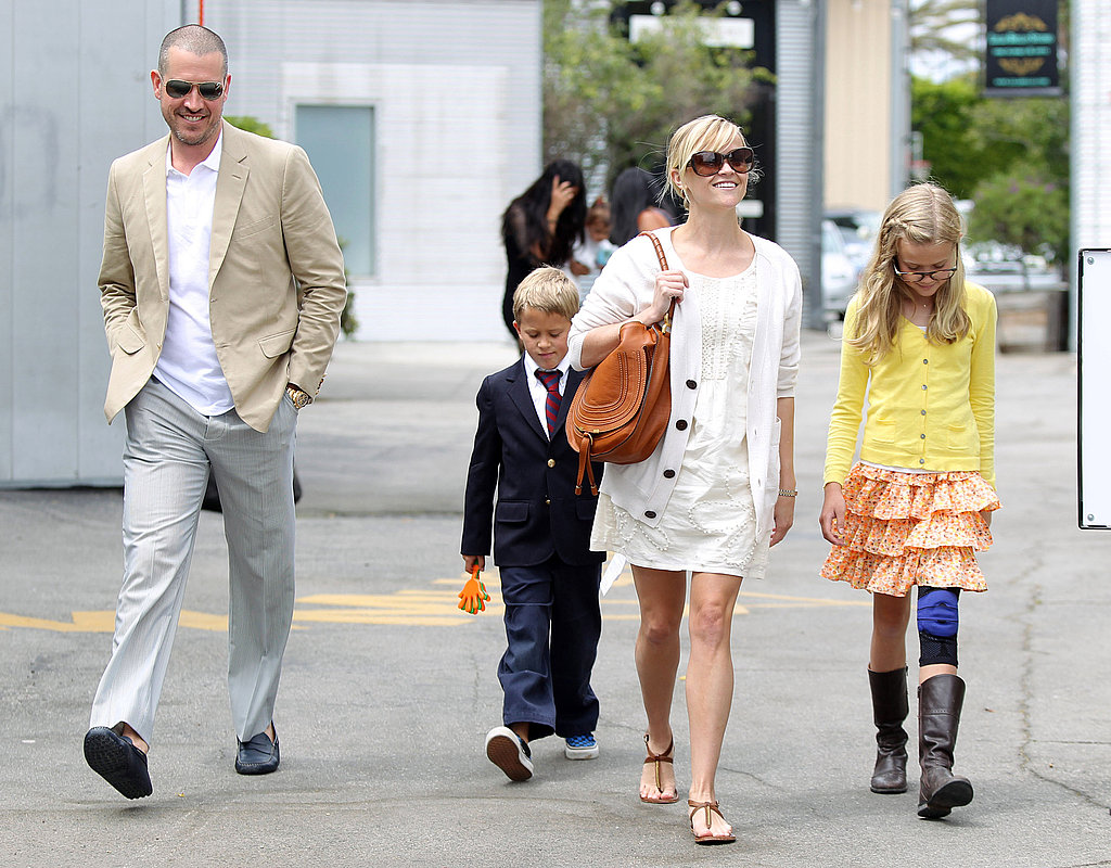 Reese, Jim, and Her Kids Celebrate Easter With the McConaugheys!