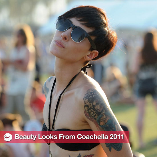 Coachella 2011: 10 Cool and Crazy Beauty Looks