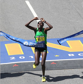 Boston Marathon Winners 2011