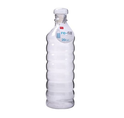 Reusable Glass Water Bottle