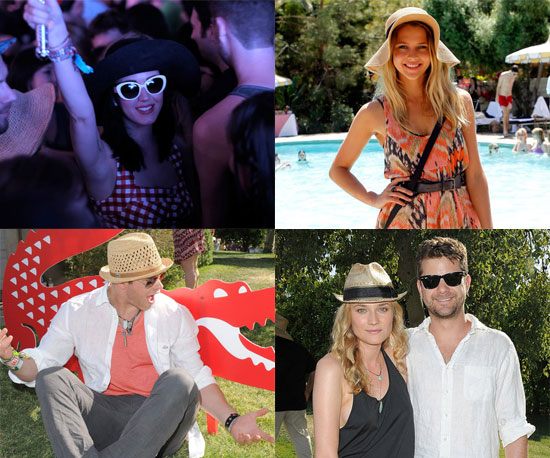 Pictures of Celebrities at 2011 Coachella Including Katy Perry, Nicole Richie, Emma Roberts