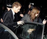 Prince William and Kate Middleton departed after another night at Boujis in January 2007.