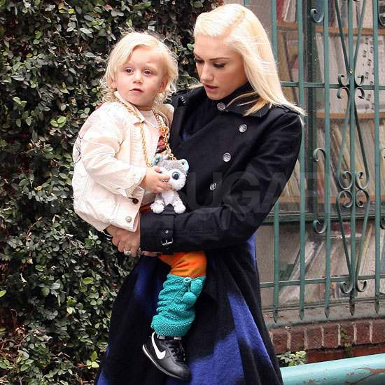 Gwen Stefani Dresses Up For a Day Out With Zuma
