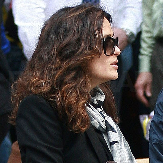 Salma Hayek Has a Family Lunch in Boston With Valentina and Francois-Henri