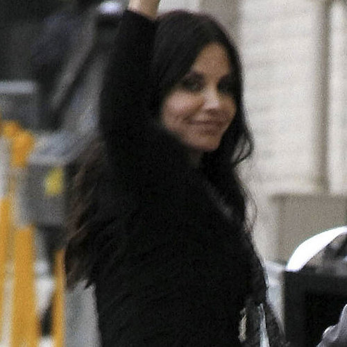 Pictures of Courteney Cox at Jimmy Kimmel Live!