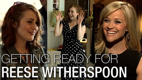 Reese Witherspoon I'm a Huge Fan: Trapeze Training Like Water For Elephants!
