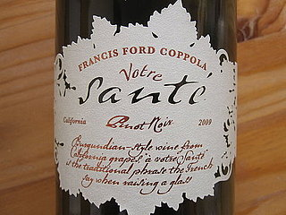Review of Francis Ford Coppola Votre Sante Pinot Noir 2009