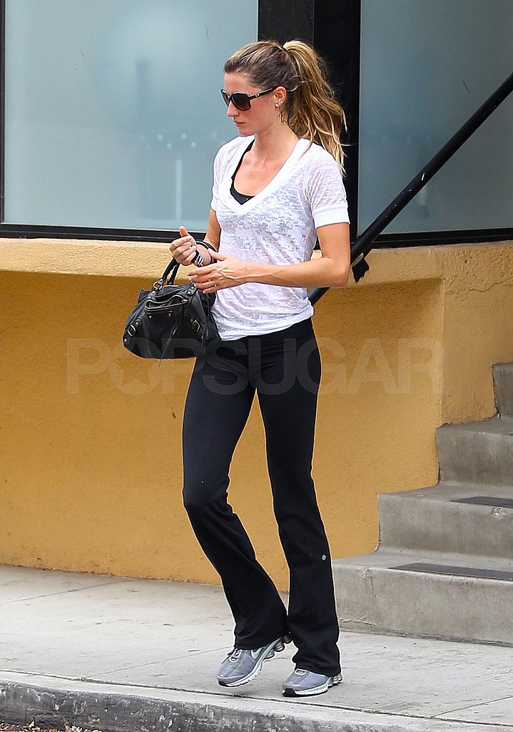 Gisele Bundchen Works It at the Gym and on the Runway