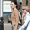 Kate Middleton Pictures in London Getting Her Hair Done