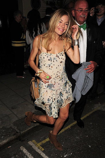 Sienna Miller Adds Her Own Flare to Spring's Hottest Trends
