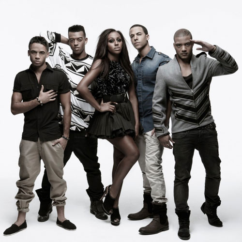 JLS and Alexandra Burke Launch a Fashion Label Together