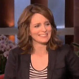 Tina Fey on Ellen