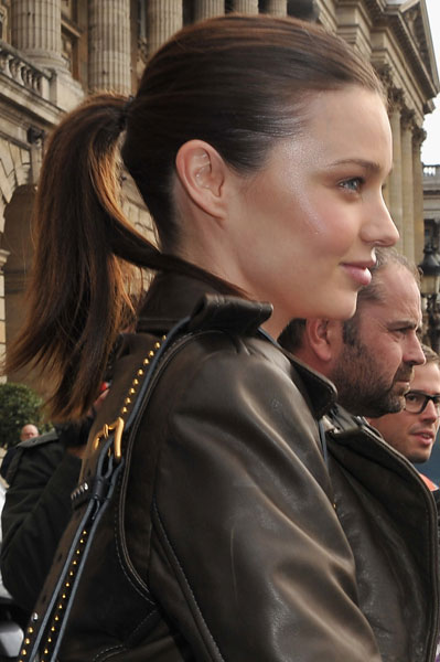 September 2010: Balenciaga at Paris Fashion Week