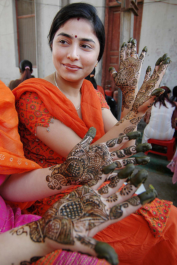 Mehndi Party Pics : Marvelous mehndi beautiful bridal henna designs