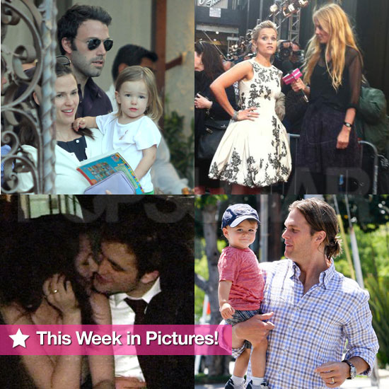 Rob and Kristen Kiss, Reese on the Red Carpet, Miranda Bikini, and More in This Week in Pictures!