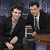 Pictures of Robert Pattinson on Jimmy Kimmel