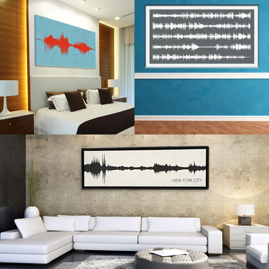 Bespoken Sound Wave Art