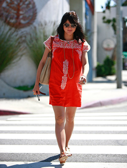 Selma Blair&#039;s Pregnancy Style