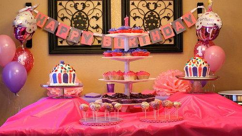 A Pretty 1st Birthday Party