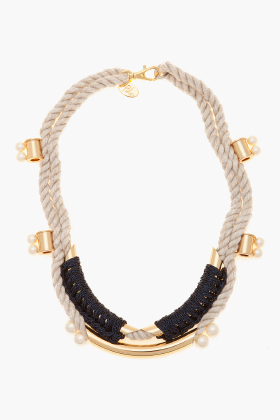 3.1 Phillip Lim Tubular Crochet Jagger Necklace ($225)
