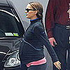 Pictures of Very Pregnant Natalie Portman