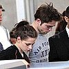 Pictures of Robert Pattinson and Kristen Stewart at LAX