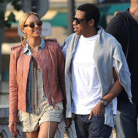 Pictures of Jay-Z and Beyonce in Paris