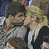 Shakira and Gerard Pique Make Out During Barcelona&#039;s Win Over Osasuna