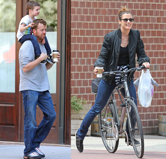 Bridget Moynahan and Boyfriend McG Take Her Son, Jack, Out on Easter