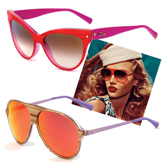 Dior's Tropical-Flavored Sunnies