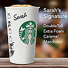 Starbucks Personalized Just For You!