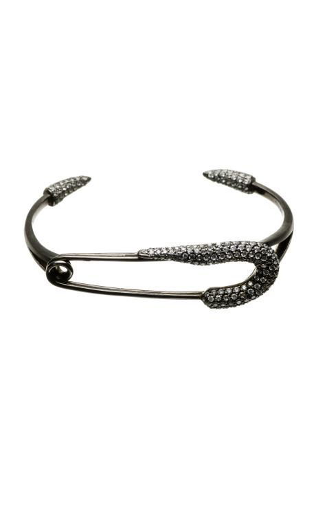 Talon Safety Pin Bracelet ($600)