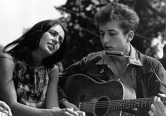 Joan Baez's Original Hippie Hair