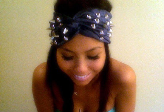 Blue Studded Turban