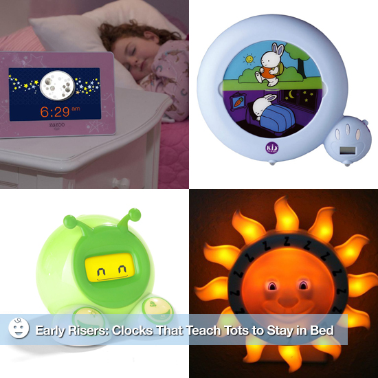 Clocks That Teach Kids to Sleep