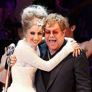 Lady Gaga Is Godmother to Elton John's Son