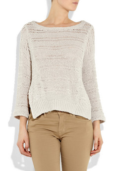 Inhabit Open Weave Sweater ($375)