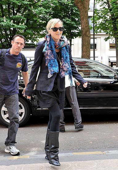 Reese Touches Down in Paris to Tend to Her Water For Elephants Press Duties