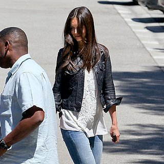Katie Holmes Heads to a Studio in LA