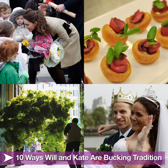 10 Ways Will and Kate Are Bucking Tradition