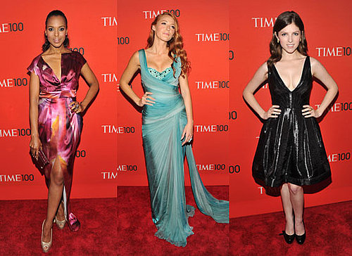 Photo's of TIME'S 100 Most Influential People In The World Blake Lively, Kerry Washington, Chris Colfer, Anna Kendrick at the