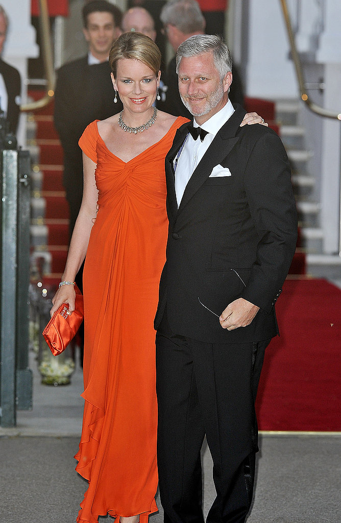 Princess Mathilde & Prince Philip of Belgium