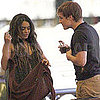 Josh Hutcherson as Peeta and and Vanessa Hudgens PDA Pictures