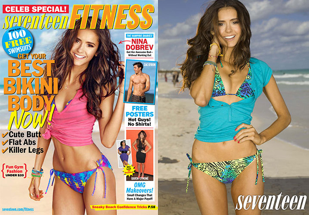 Nina Dobrev Rocks a Bikini and Says She's Not Afraid to Get a Few Bruises