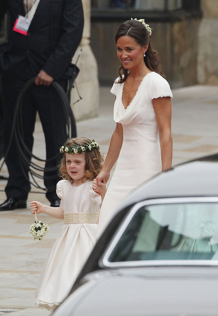 Pippa Middleton Wears Ivory Alexander McQueen to the Royal Wedding