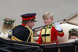 Prince Harry Gets Playful During Royal Carriage Procession